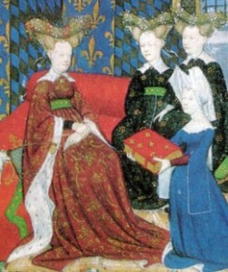 Horned Headresses on Burgundian Ladies