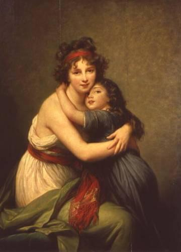 """Louise Élisabeth Vigée Le Brun """"Daughter"""""""