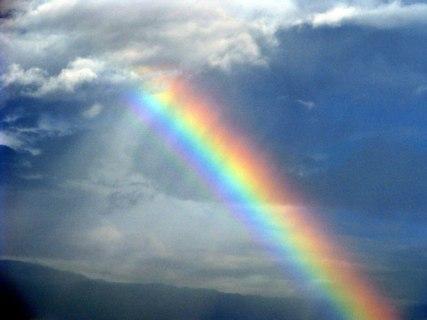 Enhanced Rainbow by Barb Ver Sluis