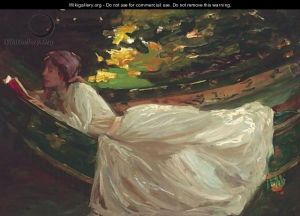 Summer (The Green Hammock) Sir John Lavery