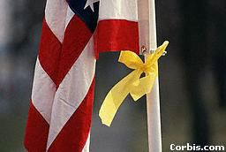 Flag With Yellow Ribbon