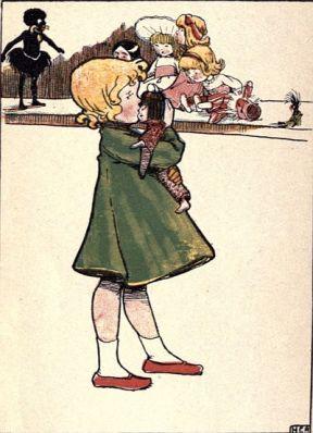 Child, doll