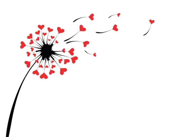 Dandilion hearts