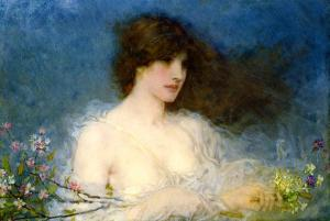 George Henry Boughton, A Spring Idyll, 1901