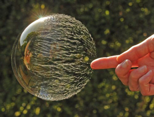 popped bubble