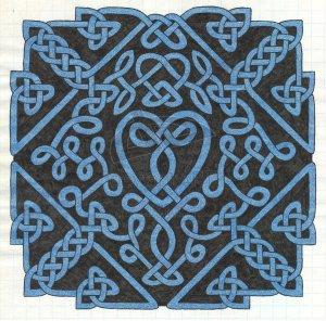 Celtic love knot