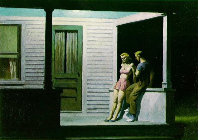 Summer Evening by Edward Hopper