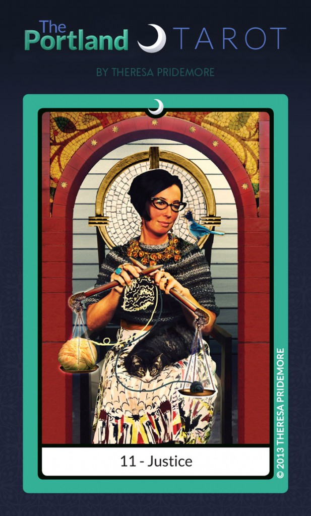 11. Justice - The Portland Tarot