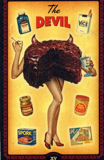 15. The Devil - The Housewives Tarot