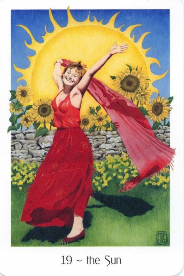 XIX. The Sun - Gaian Tarot
