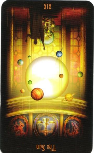 19. The Sun - Reversed