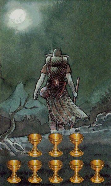 8 of Cups - Secret Tarot