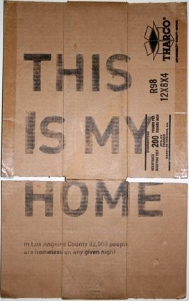 Cardboard - this is my home