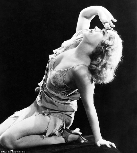 Fay Wray (from King Kong)