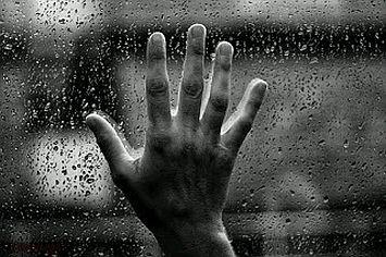 hand window glass