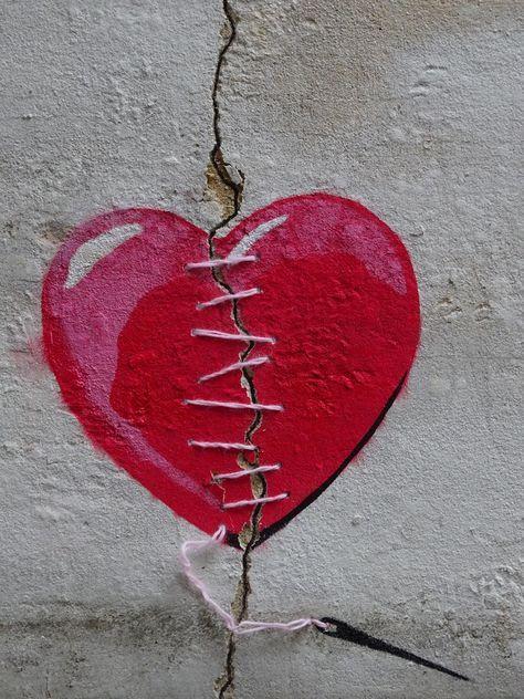 Heart crack repair