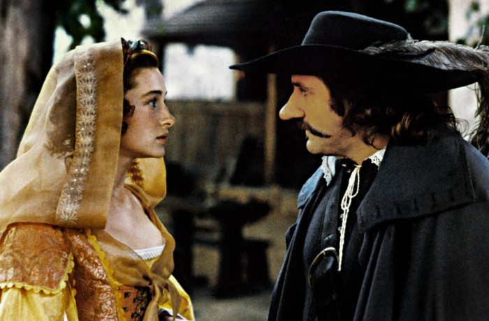 Cyrano and Roxanne Gerard Depardieu and Anne Brochet